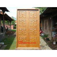Main Door with Carving Motif 8