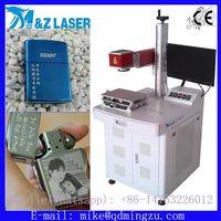 20W 30W fiber laser marking machine for logo laser printing on metals