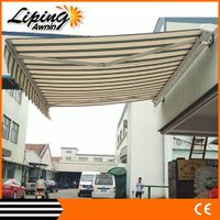 Most popular outdoor folding retractable anwing/canopy