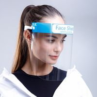 Wholesale medical safety face shield eye protective face cover stylish face shield for sale thumbnail image