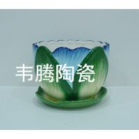Best porcelain flower pot and saucer planter