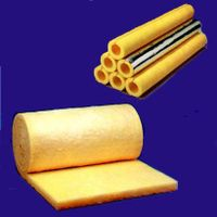Glass wool pipe and blanket thumbnail image