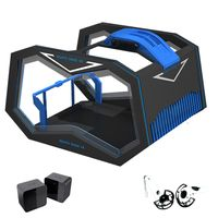9D vr helmet virtual reality cinema motion platform simulator vr sport machines