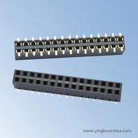 2.54 Pitch H:7.1mm Dual rows - Female Header
