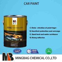1k 2k car refinish paint