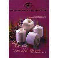 !00% Spun Polyester Sewing Thread Yarns