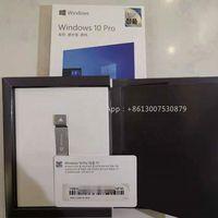 Microsoft software Korean Agent Label Windows 10 Pro USB Flash Drive FPP Retail Box