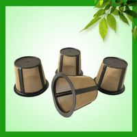 Biodegradable and plastic material k cups coffee filter