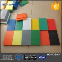 high density PE hard plastic polyethylene parts