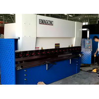 E200p double servo NC press brake, metal sheet bending machine