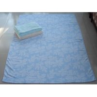 100% cotton jacquard towel blanket