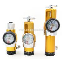 western style medical oxygen regulator