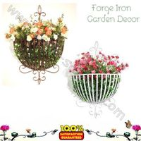 wrought Iron wall basket