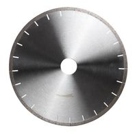Diamond saw blade for chamfering