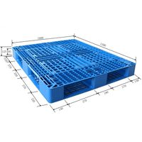 cheap 1210 double plastic pallets