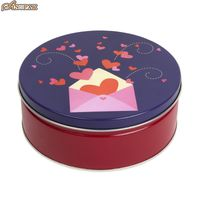 Custom Stylish Tin Box empt metal tin box cookie tin box