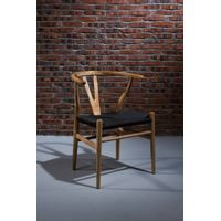 antique solid wood Chair Wishbone Chair/ Wood Wishbone Y Chair/wooden dining chair thumbnail image