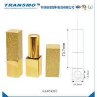 Shiny Gold Color Aluminum Magnetic Lipstick Tube