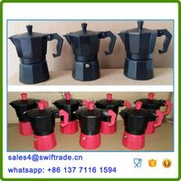 3 Cups Aluminum Espresso Coffee Maker