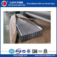 Export to Chile aluzinc corrugated steel sheet 914mm Malaysia