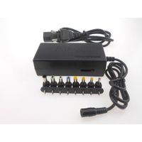 Multifunction Universal Power 96w 12v 24v adjustable adapter universal laptop power supply 8 multi-p