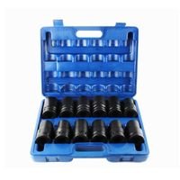 12PCS 3/4 Inch Drive Impact Deep Socket Wrench Set