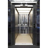 Cheap Price 6 Persons 450kg Small Passenger Elevator with All Hairline Stainless Steel