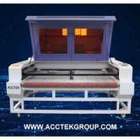 Hign quality laser cutting machine with Auto feeding roller device