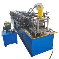 Galvanized Metal Door Twin Lath Roller Shutter Slat Roll Forming Machinery thumbnail image
