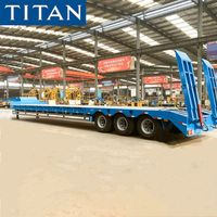 Tri axle low loader trailer for sale in Mozambique thumbnail image