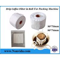 Hanging ear drip coffee filter bag for packing machine