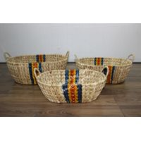 Hot item water hyacinth storage basket-SD2670B-3MC