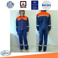fire retardant FR jacket and pants for metallurgy industry