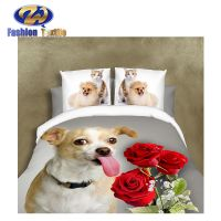 Superior quality custom 3d bedding set comforters microfiber bed cover fabric thumbnail image