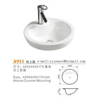 Round adove counter basin manufacturers,Bathroom sinks supplier,Round ceramic sinks manufacturers