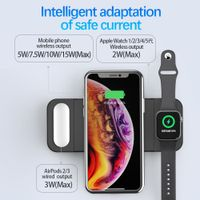 PhoneMust Foldable 15W 3 in 1 Wireless Charger Pad PM-H15 thumbnail image