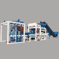 automatic concrete hollow block cement paver brick making machine thumbnail image