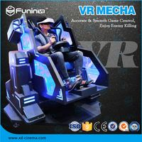 Selling 2018 new product VR MECHA game machine with VR helmet