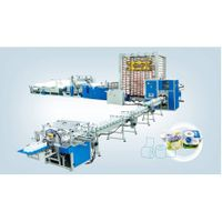 SJB-1575 New design Full automatic toilet paper and kitchen towel production line price(Top Grade)