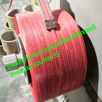 Yellow PP strapping band roll tape packing machine manufacturer in china