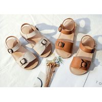 Nubuck Cow Leather Ankle Strap Ballet Flats 2020 New Design thumbnail image