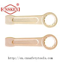 ring end slogging spanner aluminum broze alloy non sparking tools
