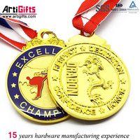 Custom cheap souvenir use running race medal thumbnail image