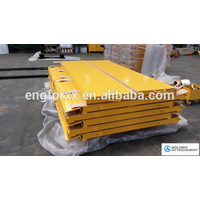 Container supporting Ramp Steel Container Ramps Truck Loading Ramp Forklift Container Access Ramp
