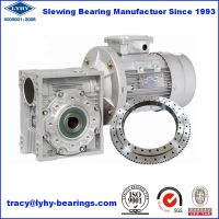 Slewing Bearing for Worm Gear Speed Reducer 010.20.224 thumbnail image