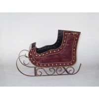 metal sleigh suitable for containing gifts WB11600