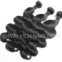 3 or 4 bundles 100 real Human Hair Extensions Virgin Brazilian Human Hair Weave Body Wave