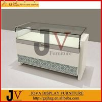Shop furniture display case for jewelry interior showroom