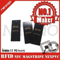 Customized material and size rfid apparel card thumbnail image