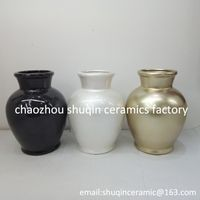 dolomite flower vase indoor ceramic vase
